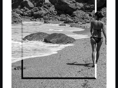 Photo Frames_3_Yianart.com graphic design digitaldesign graphics digital bw black and white photography minimal design digital art poster design poster frames