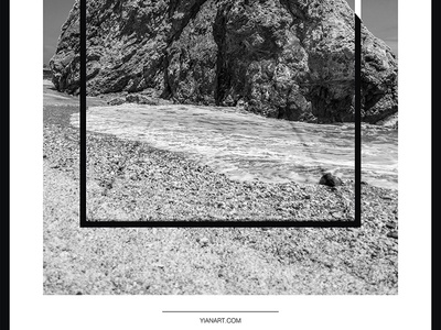 Photo Frames_4_Yianart.com graphic design digitaldesign graphics digital bw black and white photography minimal design digital art poster design poster frames