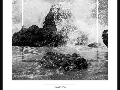 Photo Frames_6_Yianart.com graphic design digitaldesign graphics digital bw black and white photography minimal design digital art poster design poster frames