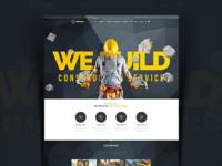 We Build - Construction, Building Premium WordPress Theme