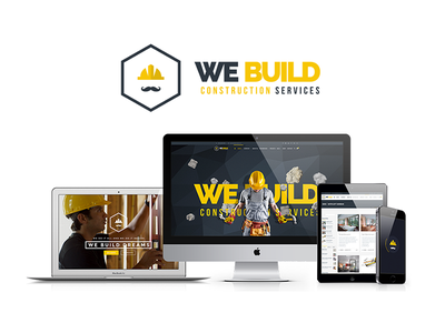 Premium Construction Company Website contractor building we build we-build webuild construction company renovation premium
