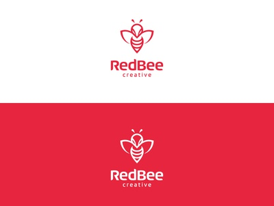 RedBee Logo 2015 creative beez wasp red bee red bee redbee