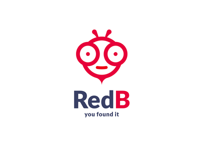 Red B Logo redb red b corporate mockup creative beez wasp red bee red bee redbee b