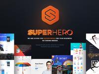 Superhero — Creative Multi-Purpose WordPress Theme