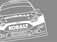 Kobalt Tools - Red Bull Global Rallycross Line Art