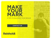 Reinholdt Brand Ad Example