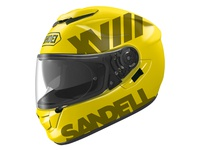 Sandell Rebrand + Helmet Example
