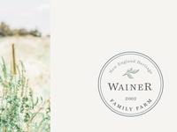 Wainer Family Farm Branding