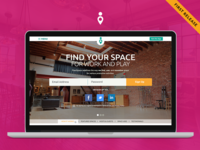 PeerSpace Landing Page - First Release