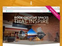 PeerSpace Landing Page - Second Release