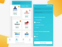Quero Bolsa App Design