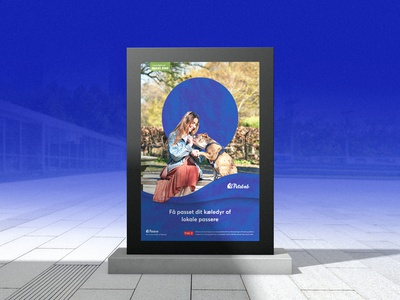 Advertisement poster for pet care portal