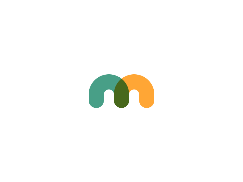 #Typehue Week 13: M typehue type green yellow lettering letter m challenge