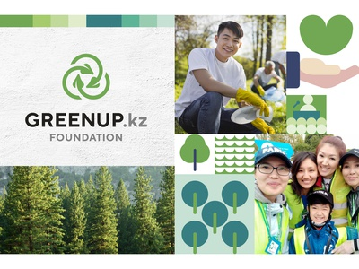 Greenup Foundation branding concept