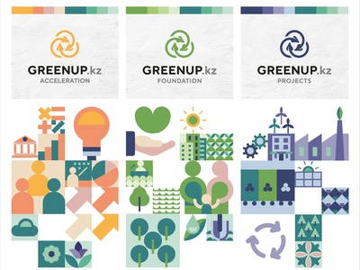 Greenup Group branding