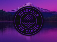 Road Kills For Cancer Badge