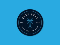 Surf Cuba Hat Patch