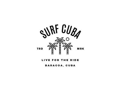 Surf Cuba T-Shirt Design surfing cuba palm trees surf surf cuba lock up