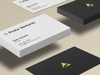 Venture Studio business cards