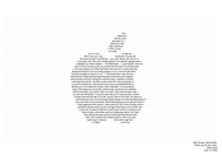 Steve Jobs Commencement Speech Poster
