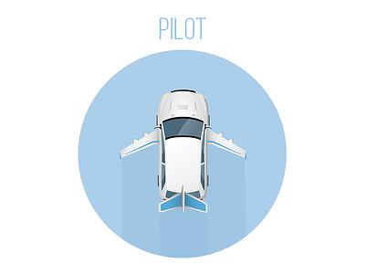 Nyfty Pilot flight plane car delivery shopping on-demand shopping pilot nyfty