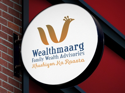 Welthmaarg Logo Design advisor finance