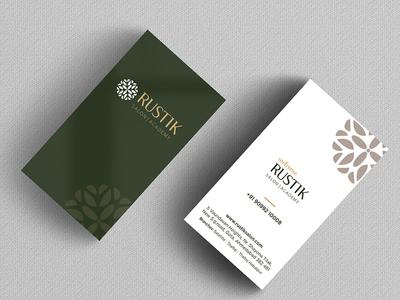 RUSTIK SALON BUSINESS CARD