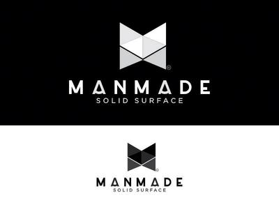 Manmade design logo