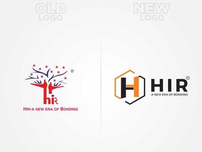 HIR Old to New Logo creative logo old to new logo transparent newlogo logodesign