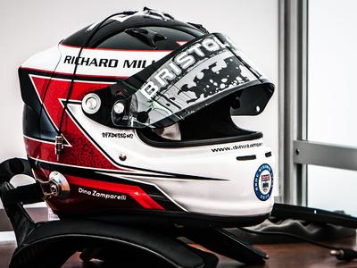 Dino Zamparelli GP3 Helmet