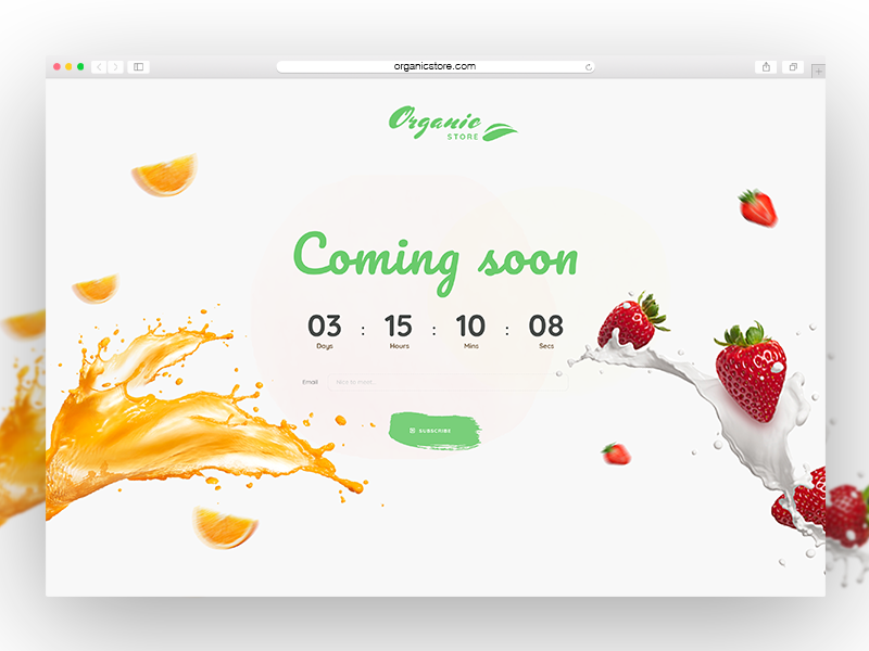 Coming soon uikit ui web uidesign design webui dribbble comingsoon