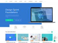 Landing Page Course - Slider