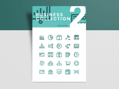 Business Collection 2 Icon Set