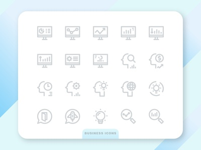 Business Collection Icons 4