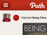 Netflix Moment in Path