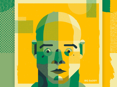 Portrait Series 04 art persona colour fanart design man people head character illustration texture vector face abstract portrait