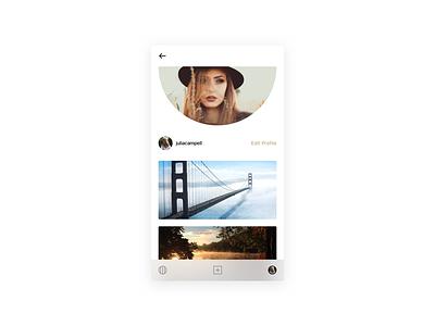 VSCO user profile clean simple redesign vsco