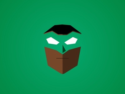 Green Lantern polygon vector justice league green lantern comics dc
