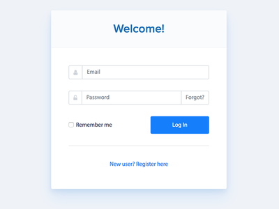 AdColony - Login sign in login landing ux ui bootstrap