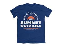 Summit Orizaba Tee Design