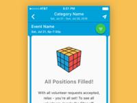 Rubik's Cube Empty State
