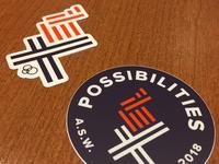 Sticker Design for Work Retreat