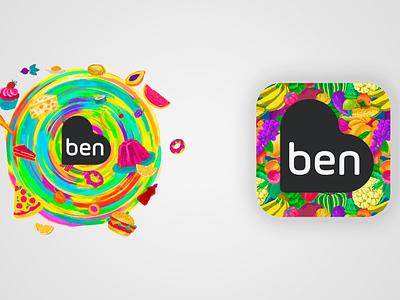 Ben Visa Vale   Splash & Icon mobile app design ui