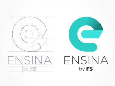 Ensina by FS education logo mobile