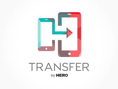 Transfer by HERO data app mobile