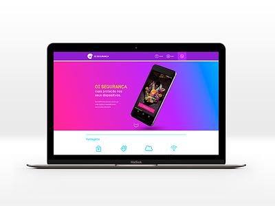 Oi Seguranca ui app carrier interface