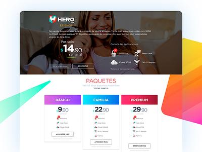 HERO app   Mexico android ux ui app