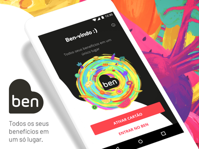 Ben App android mobile ux ui