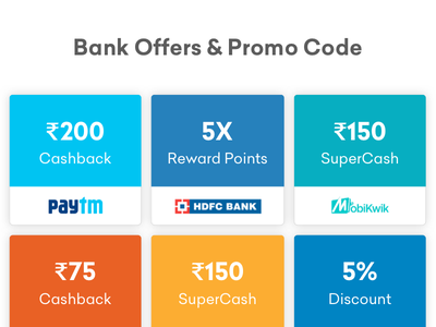 Bank Offers & Promo Code app illustration design categories bachat shop ecommerce android grocery delivery grofers card clean ux minimal ui