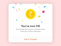 Grofers - Scratch Card